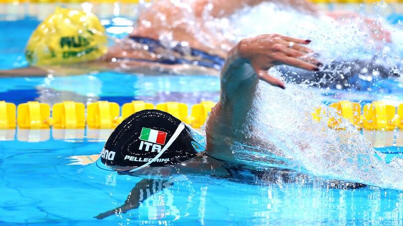 Federica Pellegrini torna in vasca: in semifinale nei 100 sl