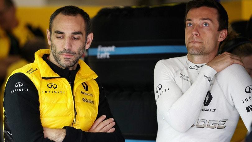 F1, Abiteboul: «Kubica non è un'opzione a breve termine»