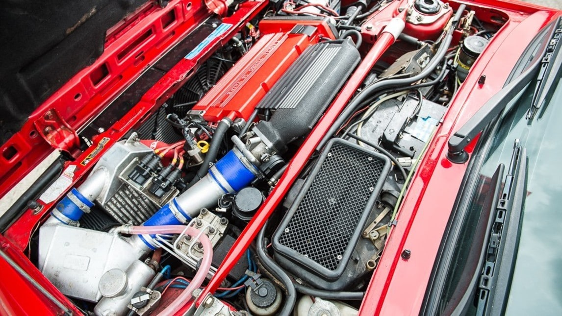 Nel gennaio 2017 è stato ricostruito quasi interamente il motore