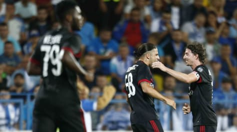 Europa League, Craiova-Milan 0-1: decide Ricardo Rodriguez