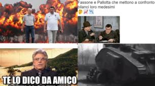 Pallotta attacca, Fassone risponde: la lite Milan-Roma accende i social