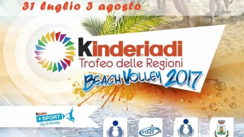 Beach Volley: Trofeo delle Regioni, lunedì il via a Casal Velino