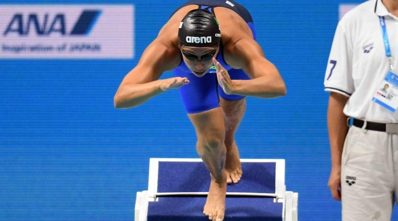 Mondiali Budapest, Castiglioni: semifinale e record italiano nei 50 rana