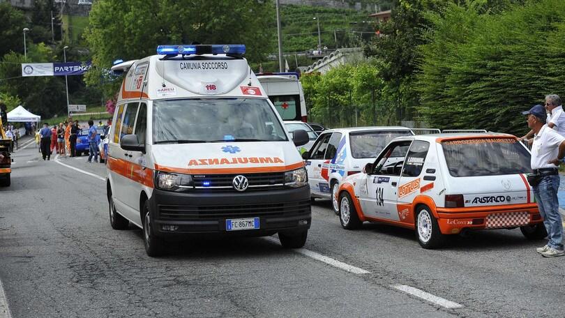 Rally Vallecamonica: auto fuori strada, muore commissario di gara
