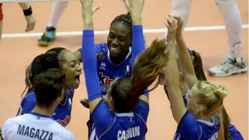 Volley: Europei U16, l'Italia femminile è d'oro