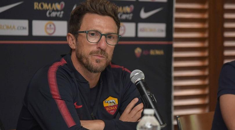 Di Francesco: «Manolas vuole restare alla Roma»