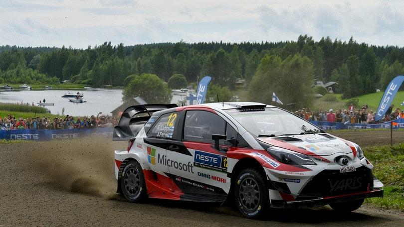 Rally, Finlandia: vince Lappi, Neuville nuovo leader
