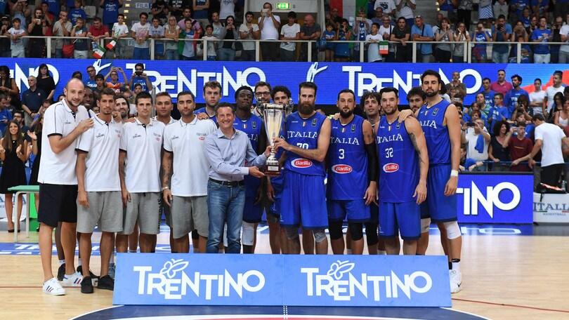 Trentino Basket Cup all'Italia, Paesi Bassi ko