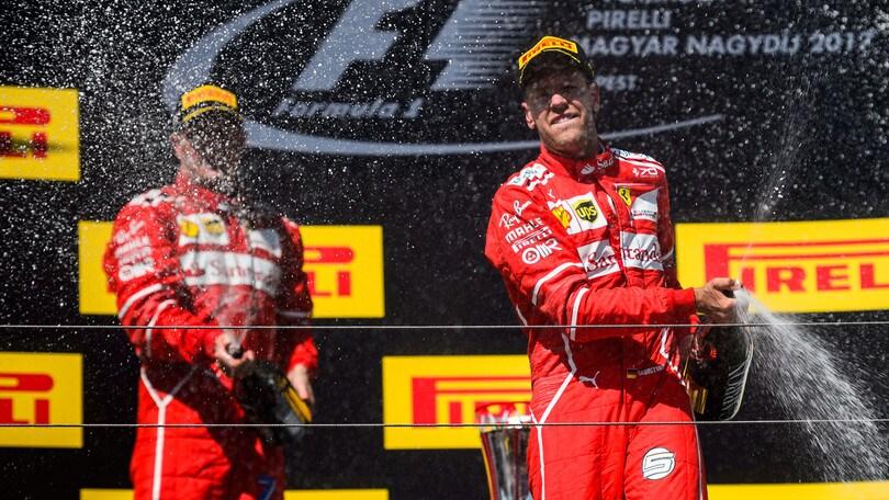 F1: Vettel allunga, il titolo scende a 1,85