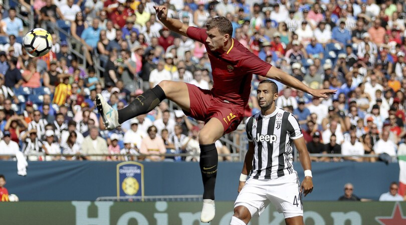Roma, Dzeko: «Pronti per la stagione»