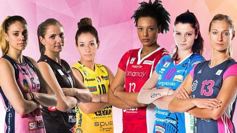 Calendario Femminile.Volley Serie A1 Femminile Ecco Il Calendario 2017 18