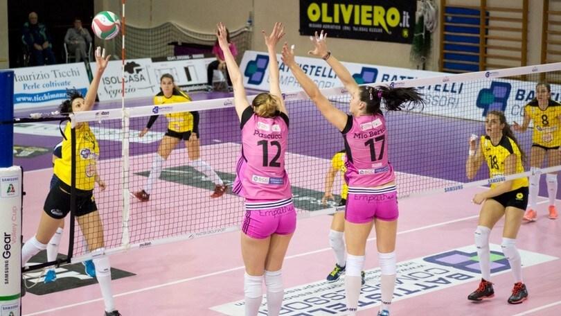 Volley: Serie A2 Femminile, Caserta viene riammessa
