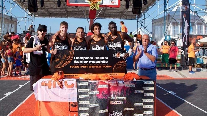 Streetball Italian Tour 2017, 4NCI campione d'Italia