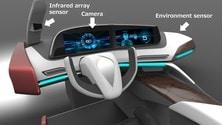 Sicurezza auto: arriva il sistema che scansiona occhi e calore