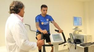 Visite mediche per Vecino, le prime immagini con la maglia dell'Inter
