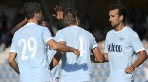 Kufstein-Lazio 1-13, le immagini della goleada biancoceleste
