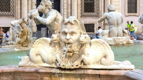 Sentieri d'acqua: fontane e parchi, Roma da scoprire