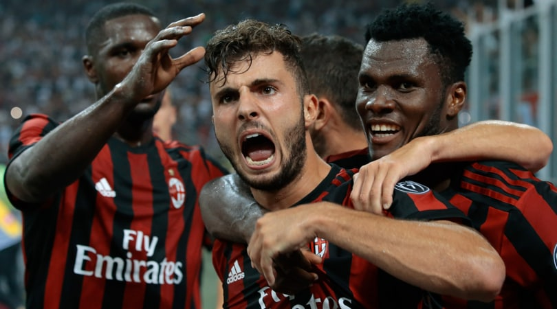 Calcio. Il Milan batte 6-0 lo Shkëndija nell'andata del preliminare di Europa League