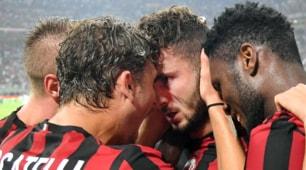 Milan-Craiova 2-0: Bonaventura e Cutrone regalano i playoff di Europa League