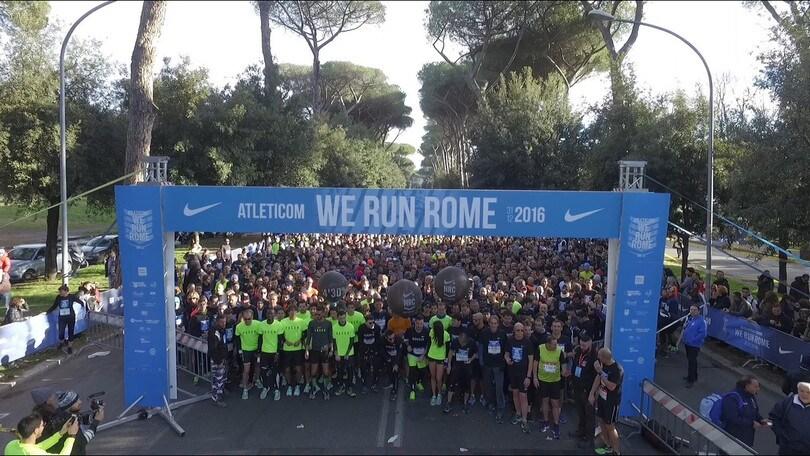 Atleticom We Run Rome 2017 il 31 dicembre