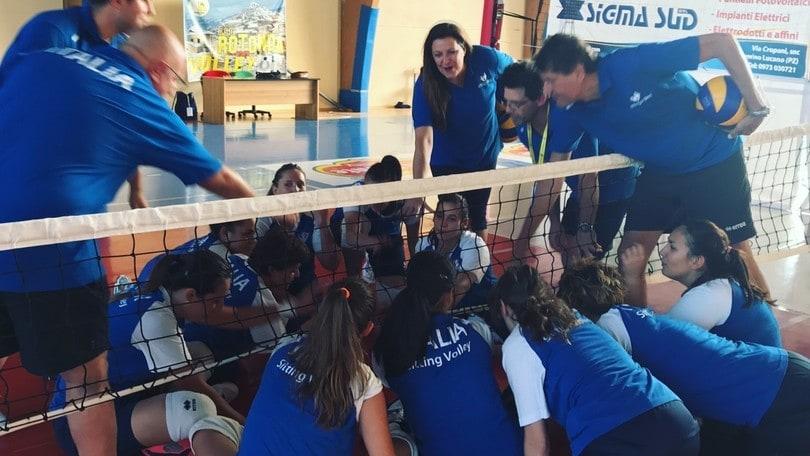 Sitting Volley: la nazionale femminile si raduna in Calabria