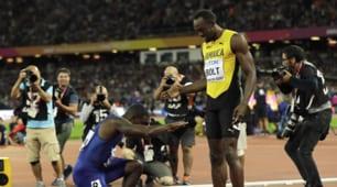 Gatlin vince l'oro ma si inchina a Bolt nell'ultimo 100