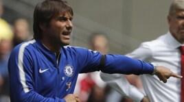 Chelsea, Conte attacca l'arbitro: «Con l'Arsenal finiamo sempre in 10»