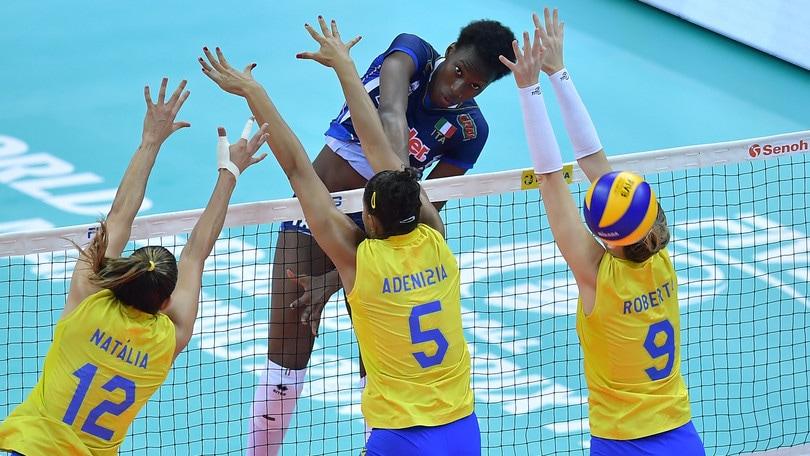 Volley: World Grand Prix , amarezza Italia, azzurre battute dal Brasile al tie break