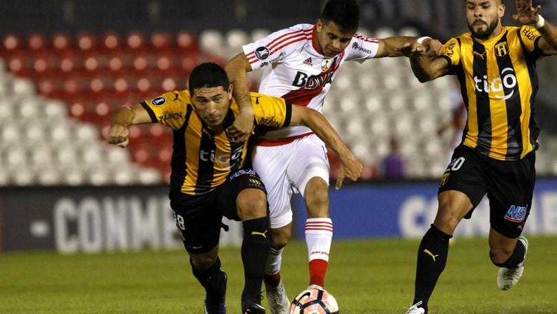 Coppa Libertadores: River Plate-Guaranì, ribaltone a 125,00
