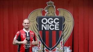Calciomercato, il Nizza presenta Wesley Sneijder