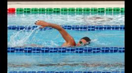 Federica Pellegrini, sexy regina del nuoto al Foro Italico