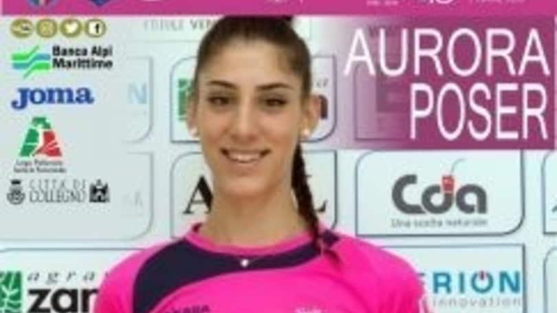 Volley: A2 Femminile, a Collegno arriva Aurora Poser