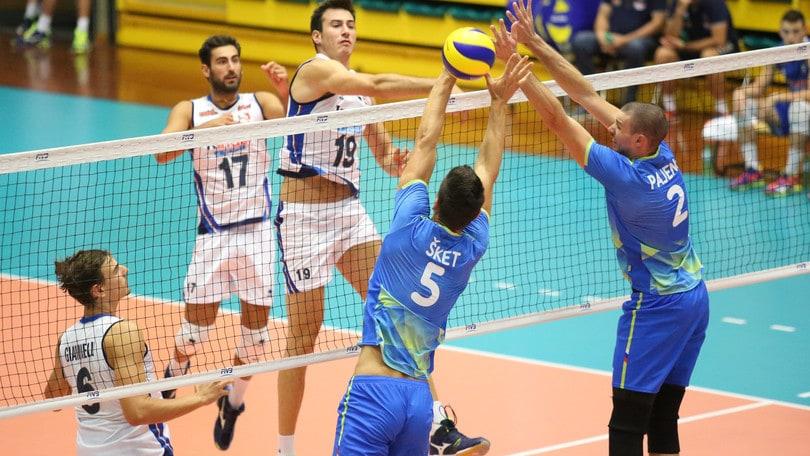 Volley: la Slovenia si prende la rivincita contro gli azzurri