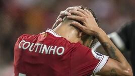 Calciomercato, i bookie fanno dietrofront: Coutinho ancora al Liverpool