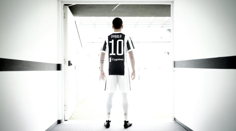 Juventus, Dybala emozionato: «La 10, una maglia speciale»