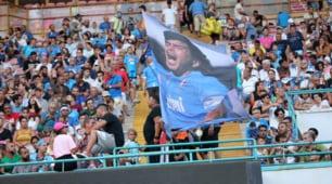 Napoli-Espanyol, spettacolo al San Paolo
