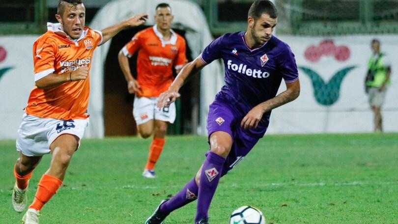 Serie A, Pistoiese-Fiorentina 0-3: Eysseric subito a segno