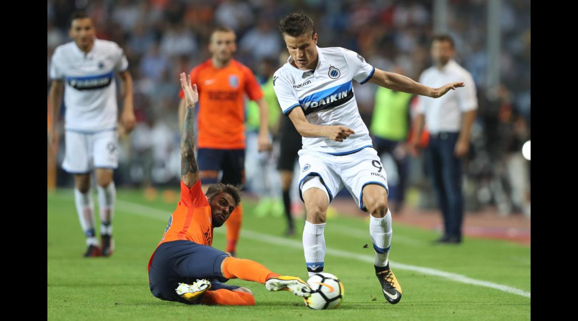 12) Club Brugge (maglia away)