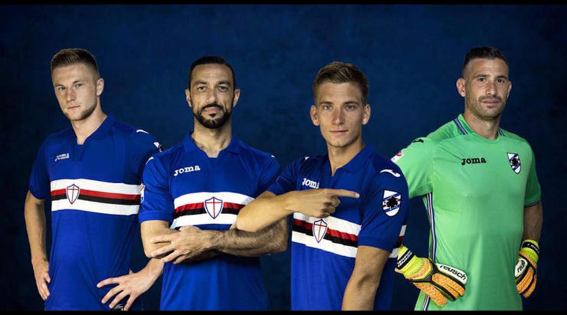 1) Sampdoria (home e away)