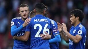 Arsenal-Leicester, c'è Mahrez in campo