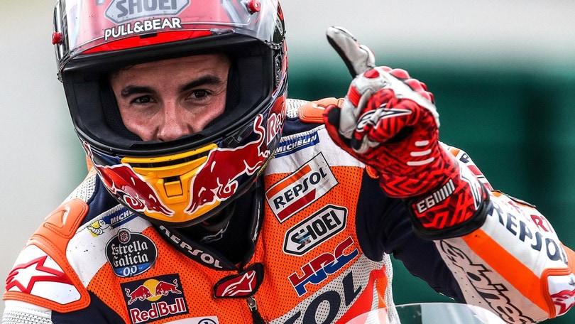 MotoGp Austria, Marquez: «Lottiamo per il podio»