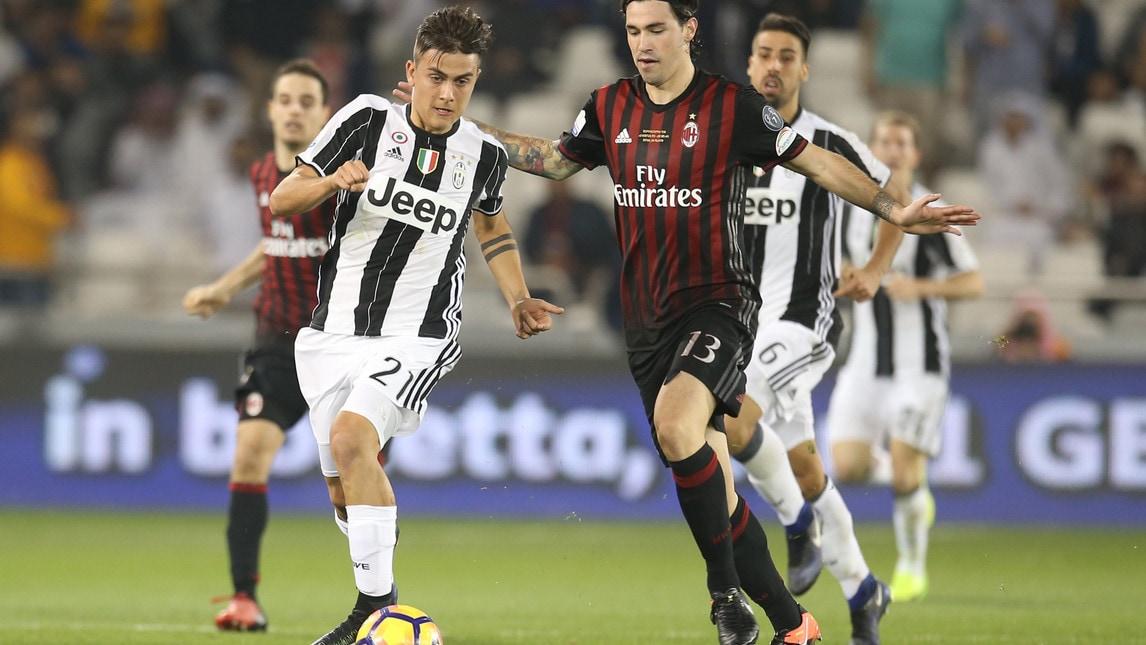 La Juventus ha disputato 12 volte la Supercoppa Italiana, uscendo vincente in sette occasioni (una ai supplementari, una ai rigori) e sconfitta cinque volte (una ai supplementari e due ai rigori).