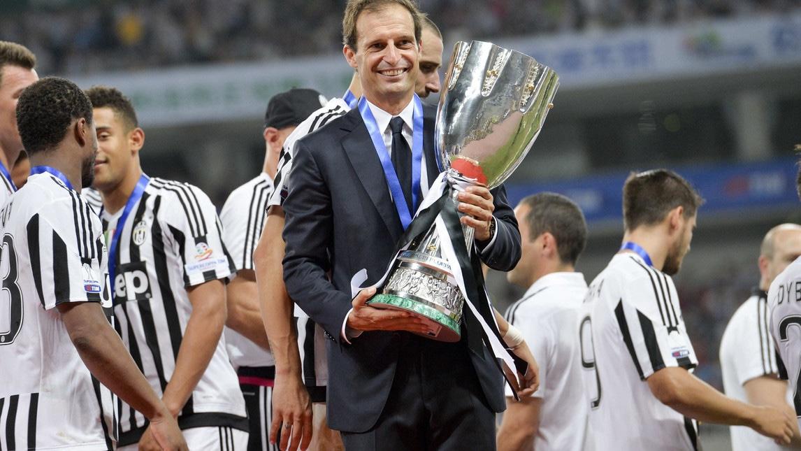 Allegri ha vinto due delle quattro edizioni di Supercoppa disputate da allenatore, perdendo ai rigori le altre due.