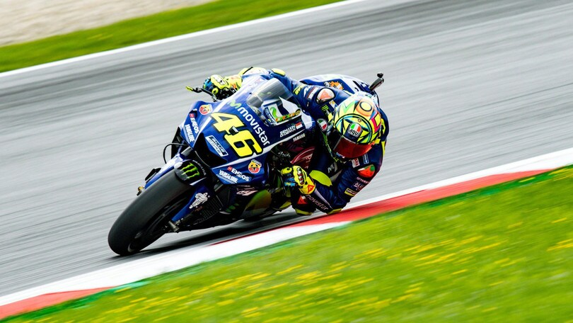 MotoGp Austria, Rossi: «Mi aspettavo di più»