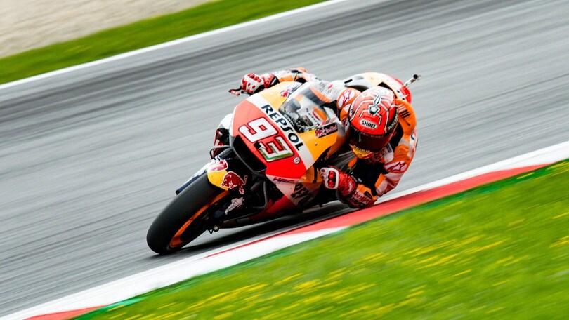 MotoGp Austria: Marquez vincente a 2,50, rimonta Rossi a 9,00