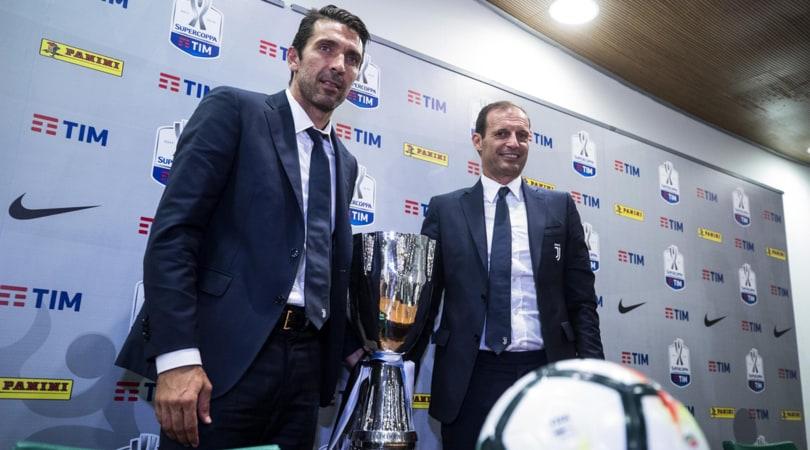 Juventus, Allegri: «La rabbia di Cardiff va usata per affrontare la stagione»