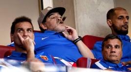 Maradona talismano Psv: vittoria con Diego a tifare