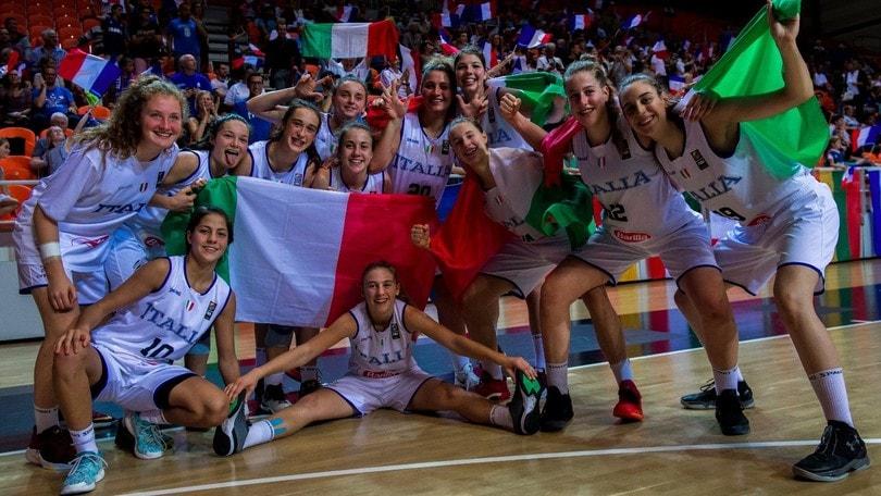 Europeo U16 Femminile, splendido Bronzo per l'Italia