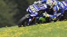 MotoGp Austria, Rossi: «Non ci aspettavamo un calo così»