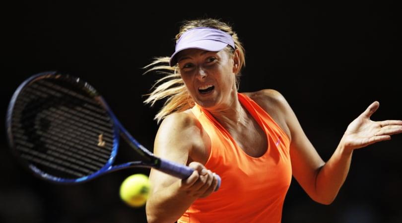 Tennis: Maria Sharapova saluta Cincinnati, problema all'avambraccio